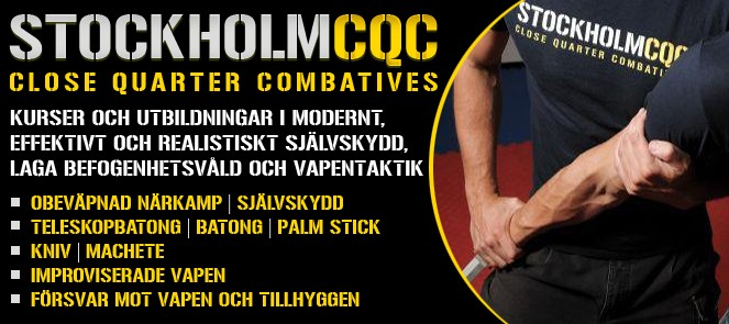Stockholm CQC - Close Quarter Combatives